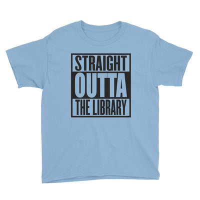 Straight Outta The Library Kids T-Shirt