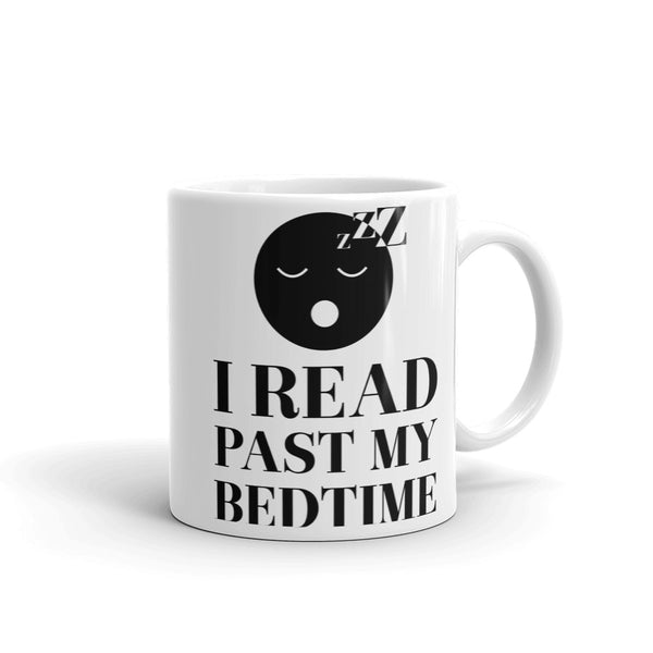 I Read Past My Bedtime Literary Mug