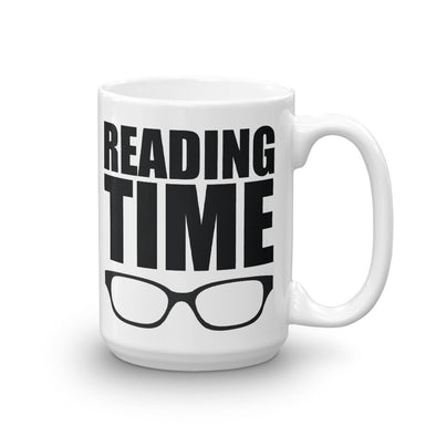Reading Time Literary Mug