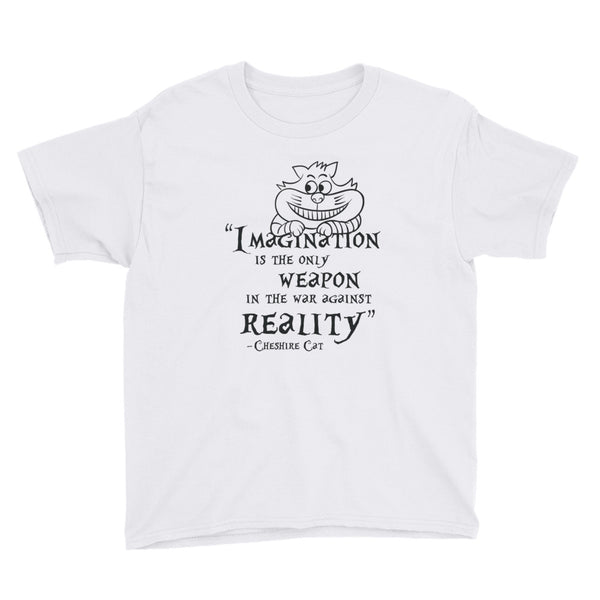 Cheshire Cat Quote Kids T-Shirt