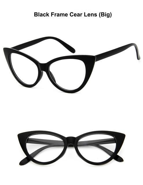 ccbce6b4302f animal themed-Sexy Cat Eye Glasses Frame