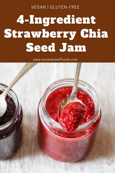 4-Ingredient Strawberry Chia Seed Jam