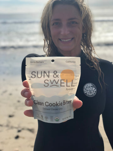 sustainable and environmentally friendly compostable snack food packaging by Sun & Swell Foods