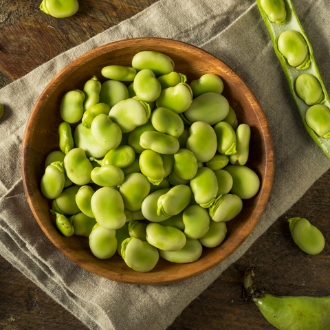 Sun & Swell Foods How to Prepare Fava Beans