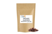 Load image into Gallery viewer, Organic Almonds - Roasted & Salted (1 lb)