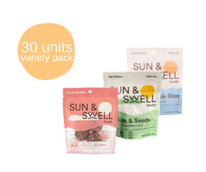 Variety Pack - 30 Snack Packs (Bulk - Save 20%)**