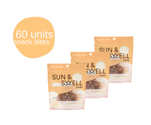Load image into Gallery viewer, Date & Cashew Bites - 60 Snack Packs (Bulk - Save 38%)