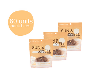 Date & Cashew Bites - 60 Snack Packs (Bulk - Save 38%)