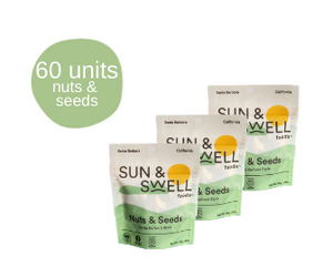 Roasted Nut & Seed Mix - 60 Snack Packs (Bulk - Save 38%)**