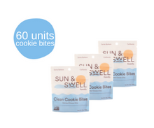 Load image into Gallery viewer, Cookie Bites - 60 Snack Packs (Bulk - Save 38%)**