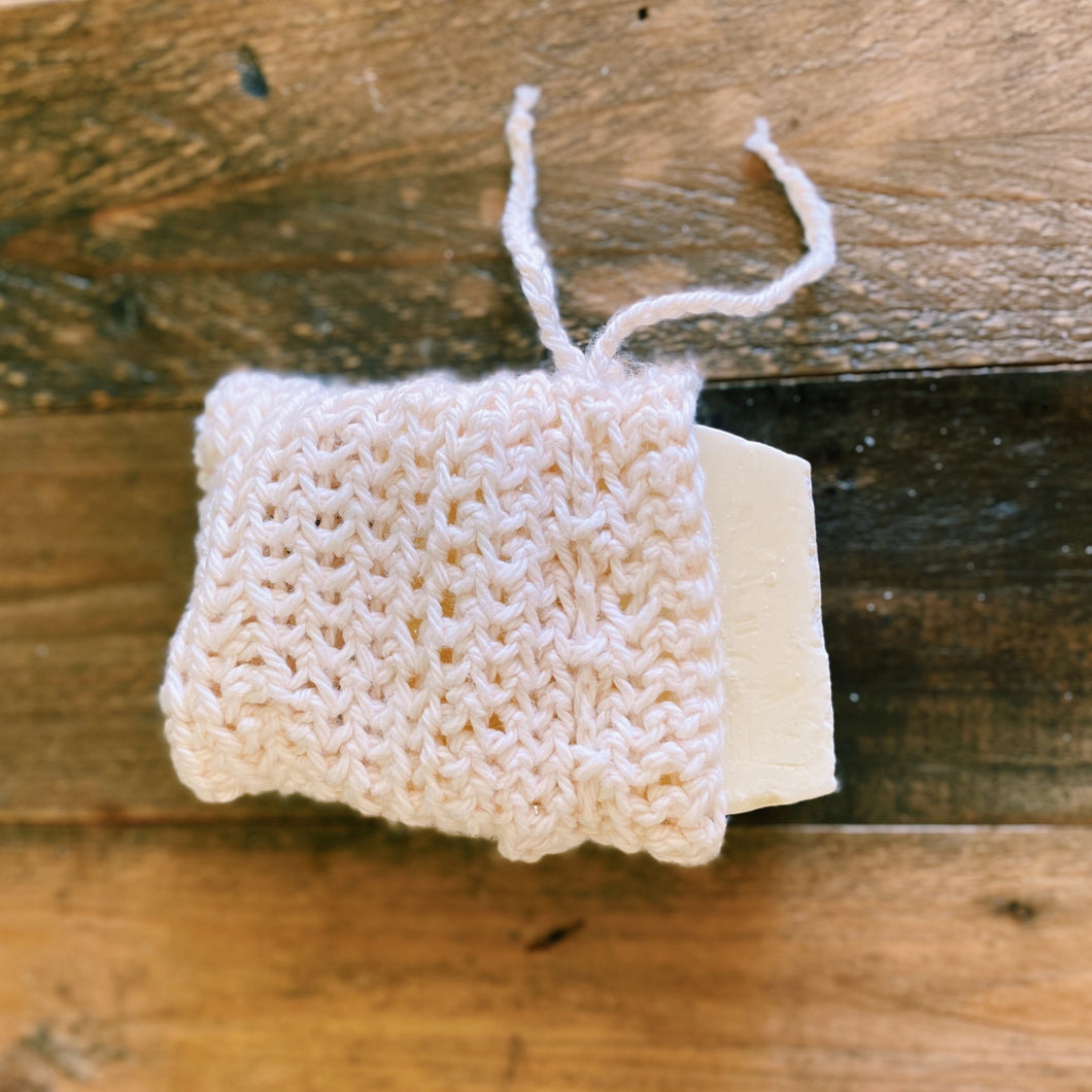 Handmade Crocheted Soap Bag