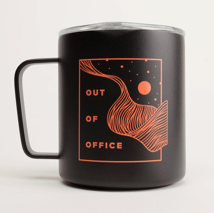 Out of Office 12oz Camp Cup