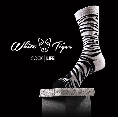 WHITE TIGER - Sick Socks