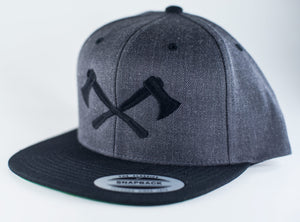 Classic Snapback Hat with Axes