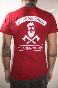 "T-Shirt ""In Axe We Trust"""