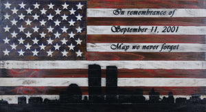 The 9/11 Remembrance Flag