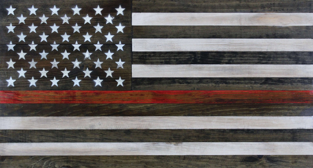 The Thin Red Line Flag
