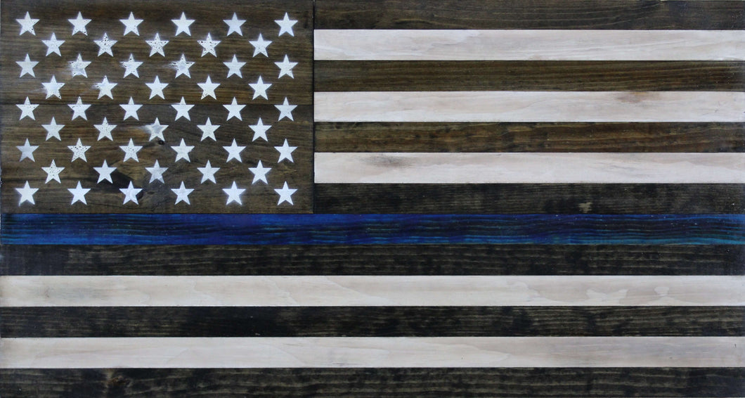 The Thin Blue Line Flag