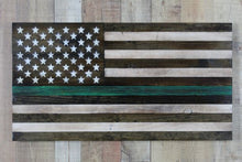 Load image into Gallery viewer, The Thin Green Line Flag
