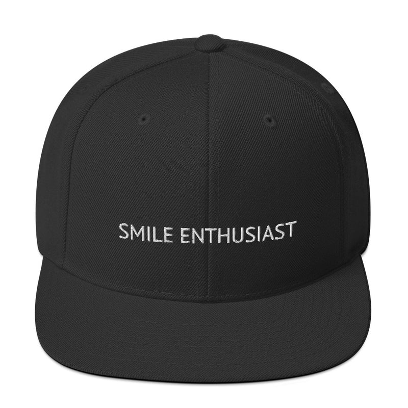 Smile Enthusiast Snapback Hat