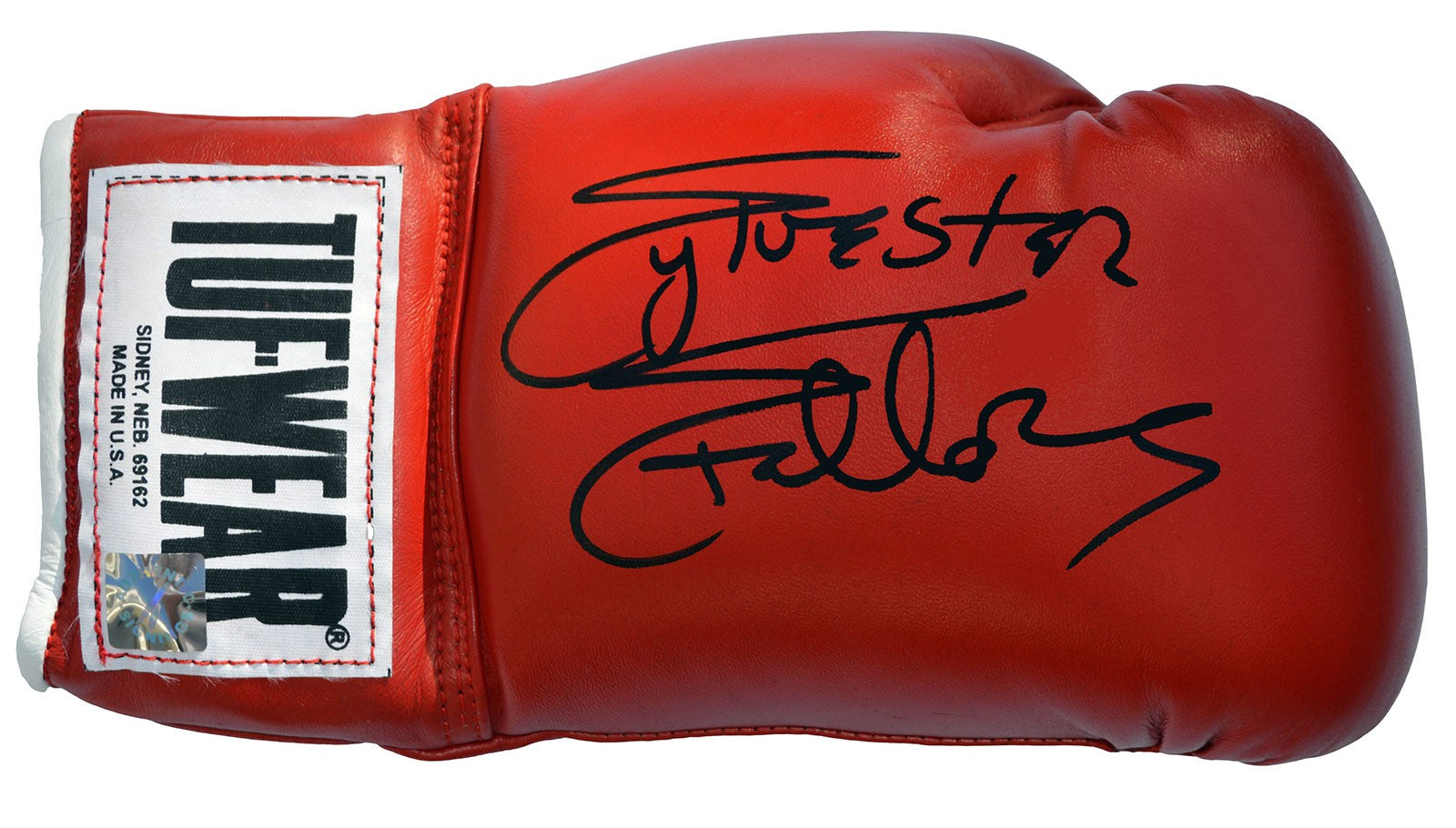 Sylvester Stallone Signed Rocky Boxing Glove Picture - Magical Emporium