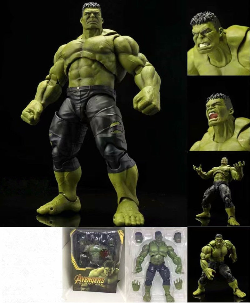 The Avenger Alliance SHF Figures Infinity War Hulk PVC Action Figure Collectible Model Toys Gift Dolls 21CM With Box Picture - Magical Emporium