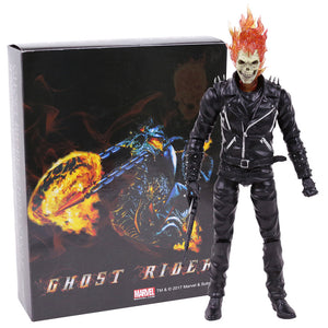 Marvel Ghost Rider Johnny Blaze PVC Action Figure Collectible Model Toy 23cm Picture - Magical Emporium