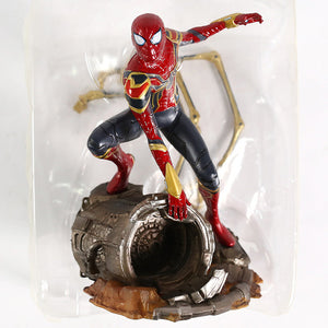 Marvel Avengers Infinity War Iron Spider Statue Spiderman PVC Action Figure Collectible Model Superhero Toy Doll Picture - Magical Emporium
