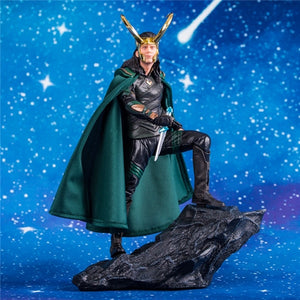 Avengers Captain Marvel Thanos ironman spiderman Loki Doctor Strange Statue PVC Action Figures Avengers Endgame Dioarama Picture - Magical Emporium