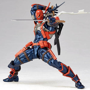 DC Amazing Yamaguchi Revoltech Series NO.11 Deathstroke PVC Action Figure Collection Model Toy Gifts Picture - Magical Emporium