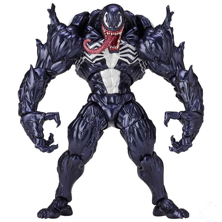 Marvel Character Venom in Movie The Amazing Spiderman BJD Figure Model Toys 18cm Picture - Magical Emporium