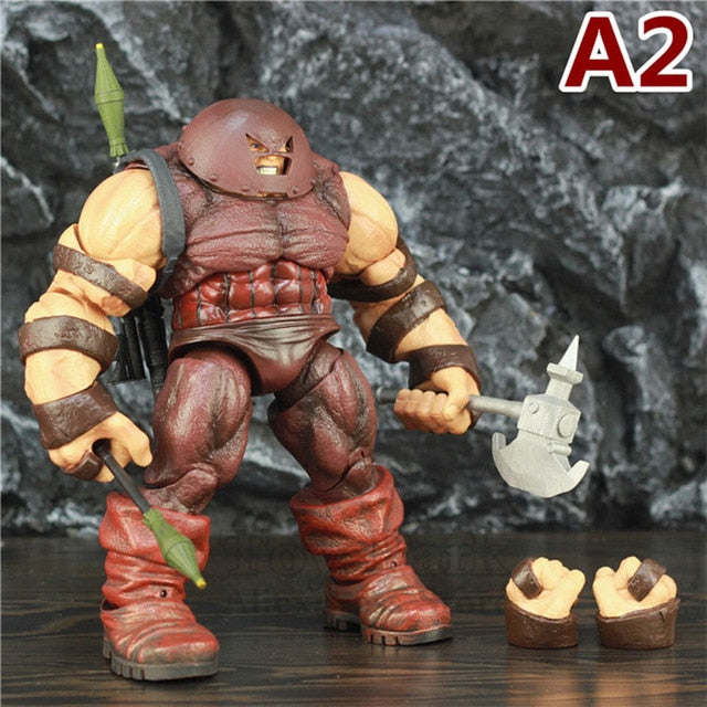 "X MEN Colossus Captain America Juggernaut 10"" Action Figure 22cm KO's Marvel Diamond Select DST MS X Froce Legends Toys Doll Picture - Magical Emporium"
