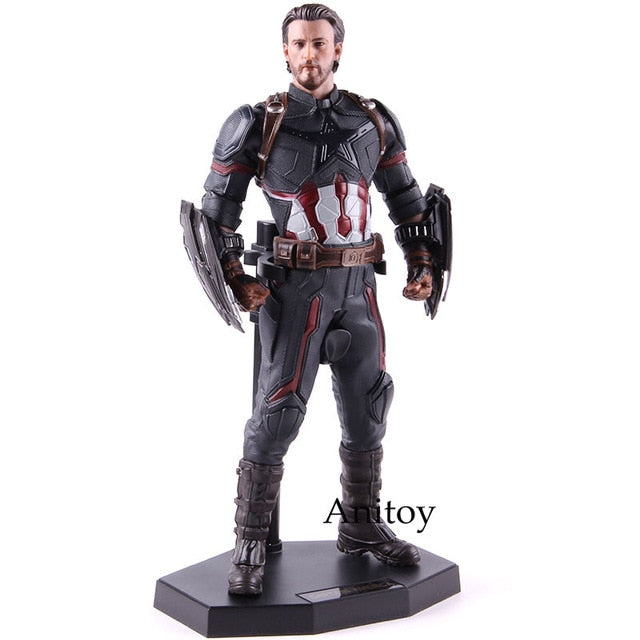 1/6th Scale Crazy Toys Figure Statue Avengers Endgame Captain America Figure Marvel Action Figure Collectible Model Toy Picture - Magical Emporium