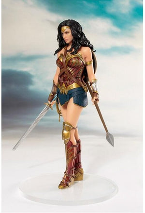 DC Heroes Wonder Woman figure toys doll 19cm DC justice League ARTFX Wonder Woman Statue Collection Model Action Figure Toys - Magical Emporium