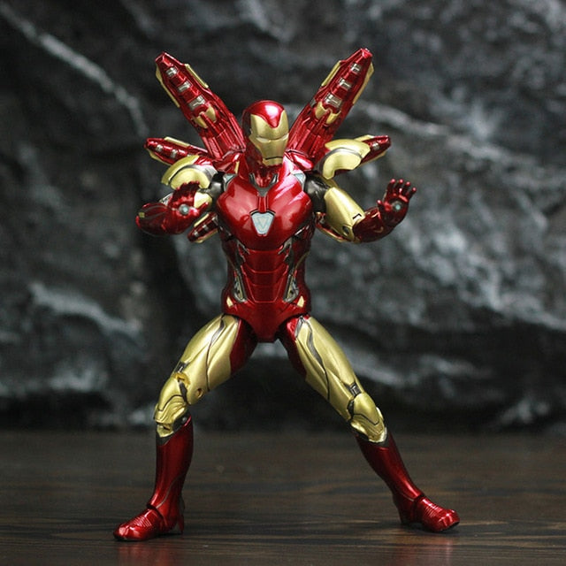 17cm Pepper Marvel MK85 Iron man the Avengers 3 Iron Spider Man Amazing Spiderman Movable Action Figure model toys Picture - Magical Emporium