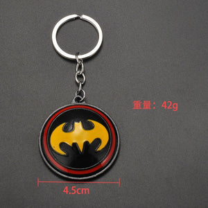 2019 Marvel The Avengers Keychain Thor's Hammer Thanos Gauntlet Captain America Shield Hulk Batman Mask Key Ring Wholesale Picture - Magical Emporium