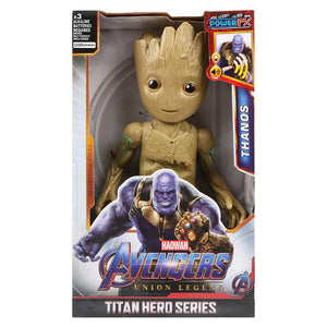 12''/30cm Marvel Avengers Venom Batman Flash Superman Spiderman Thanos Hulk Iron Man Thor Groot Action Figures Toy For Kid Gifts Picture - Magical Emporium