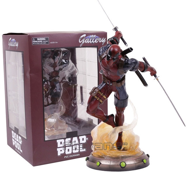 Diamond Select Toys Marvel Gallery Deadpool Statue PVC Figure Collectible Model Toy 35cm Picture - Magical Emporium