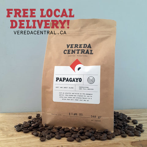 Vereda Central Free Local Delivery Specialty Coffee Oakville Roasters