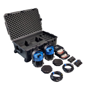 Double Varsa Broadcast Plus Kit - DAYLIGHT (incl. case & v-mount adapters)