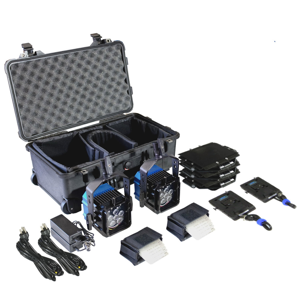 Double Zaila Broadcast Plus Kit (incl. case & V-mount adapters)