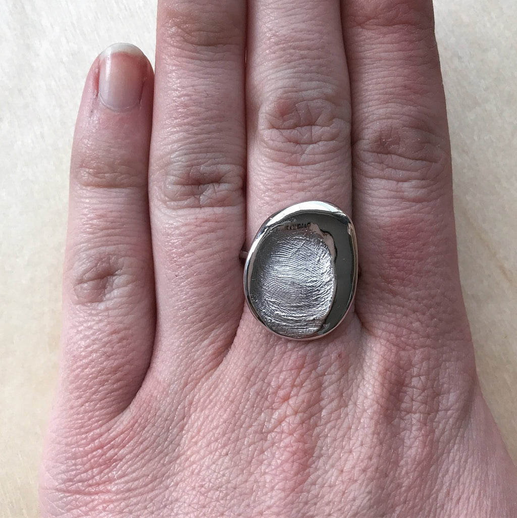 Fingerprint Ring (Large)