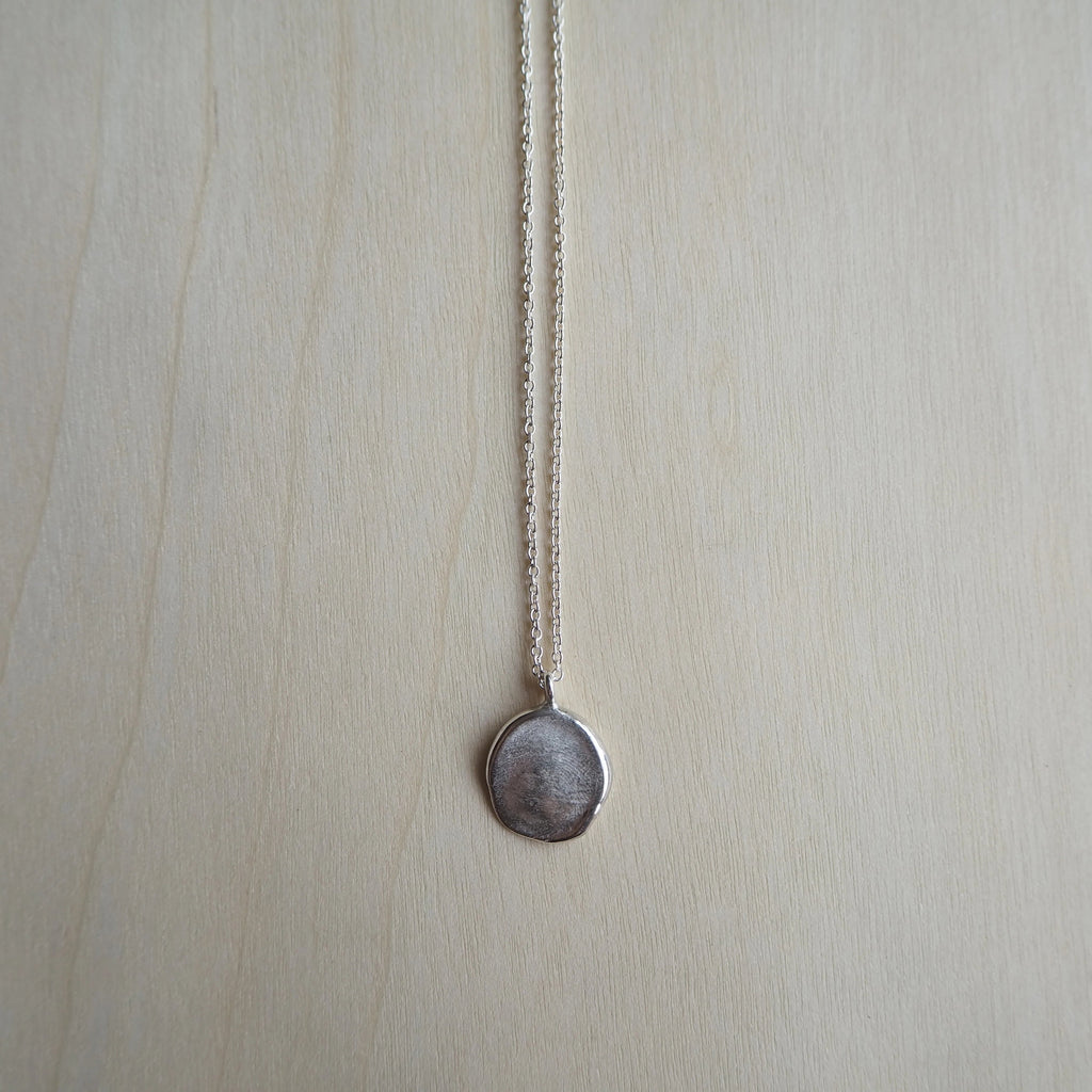 Fingerprint Necklace (Organic)