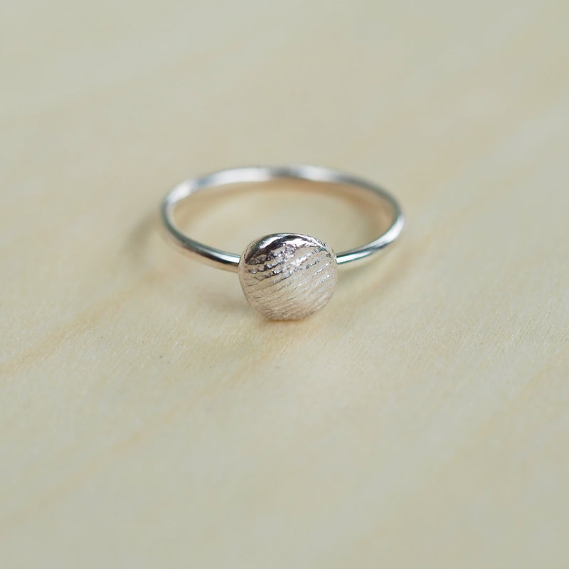 Mini Fingerprint Ring