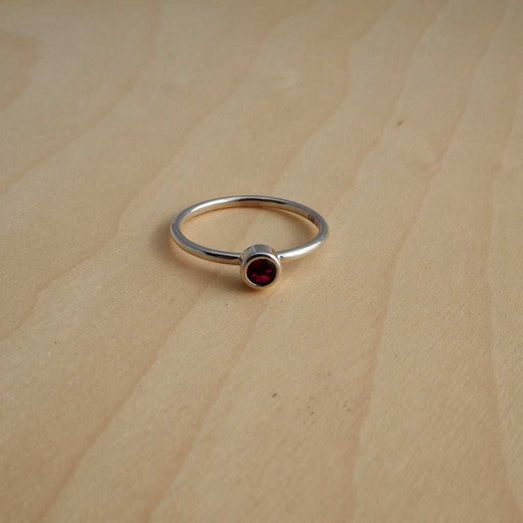 Birthstone Ring (Synthetic)