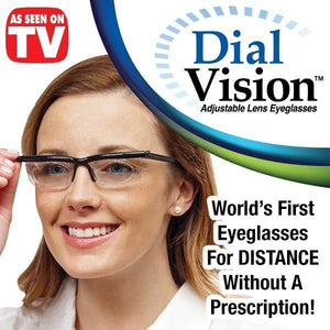 db8284ed92 Dial Vision - The World s First Adjustable Eyeglasses – Glarie Deals