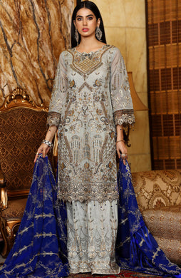 Luxury Embroidered Chiffon Range'21 By Areesha