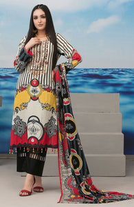 Realm Embroideed Lawn'21 by Amna Sohail