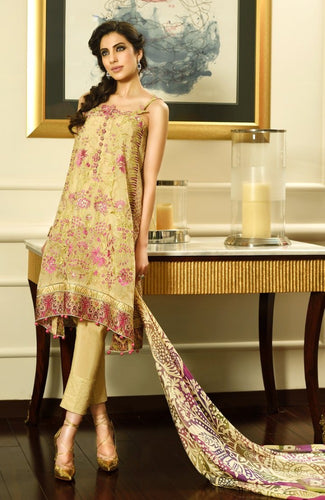 Crescent Luxury Chiffon by Faraz Manan