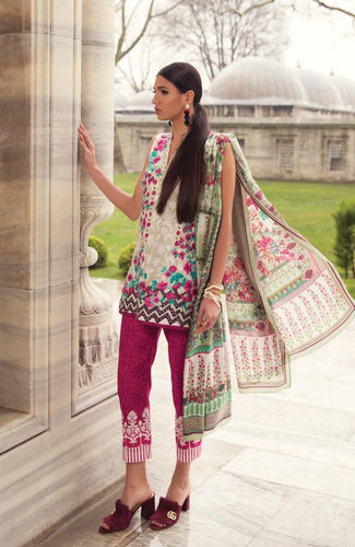 Mina Hassan Luxury Embroidered Lawn Range